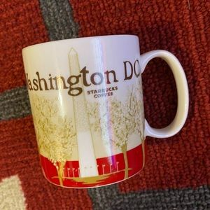 Super cute Starbucks Washington DC Mug